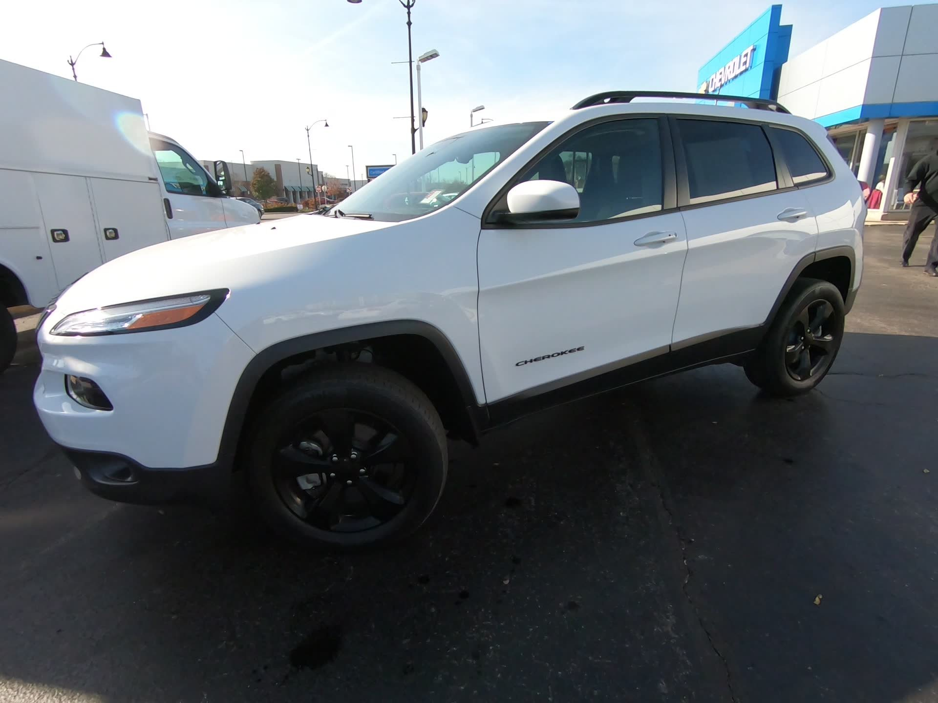 Pre-Owned 2017 Jeep Cherokee High Altitude