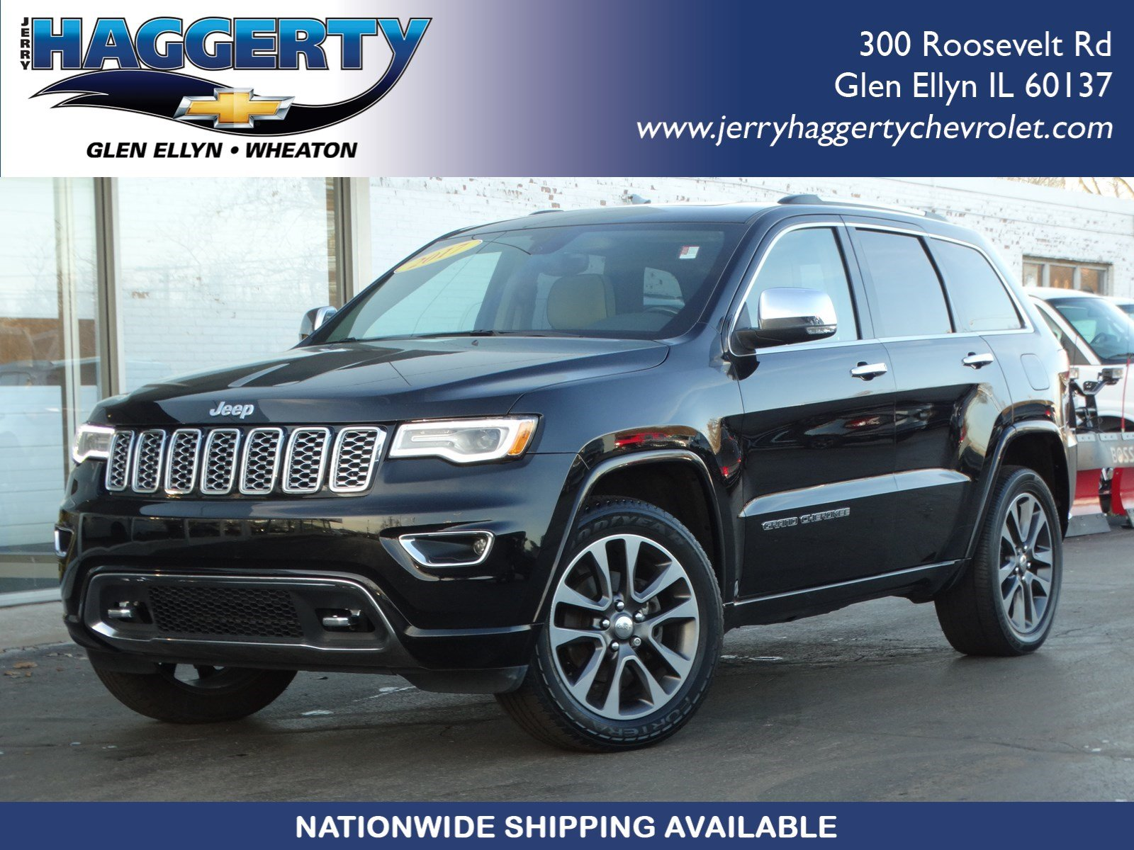Jeep Grand Cherokee Overland >> Pre Owned 2017 Jeep Grand Cherokee Overland With Navigation 4wd