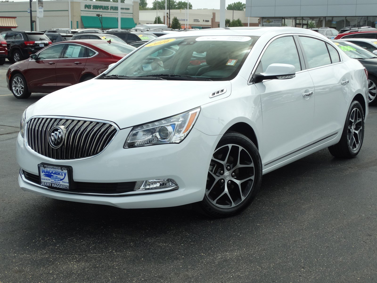Certified Pre Owned 2016 Buick Lacrosse Sport Touring