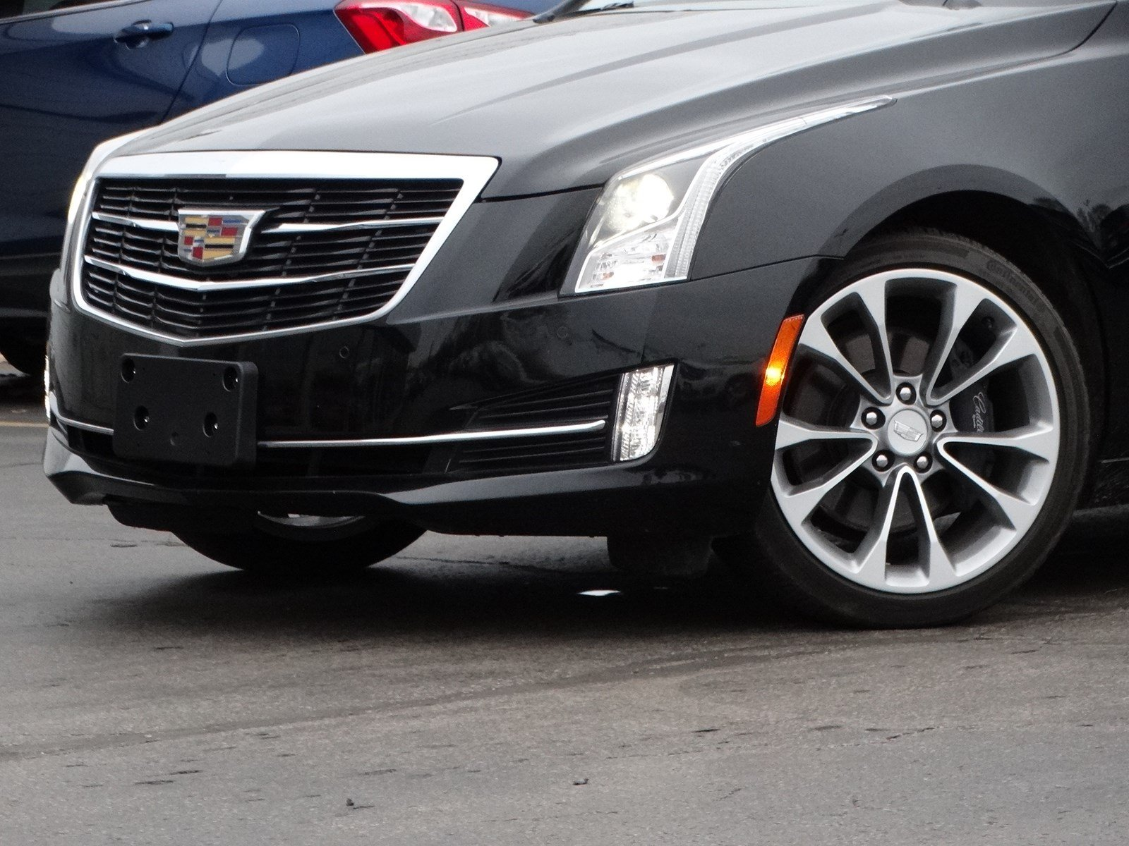Pre-Owned 2015 Cadillac ATS Coupe Luxury AWD
