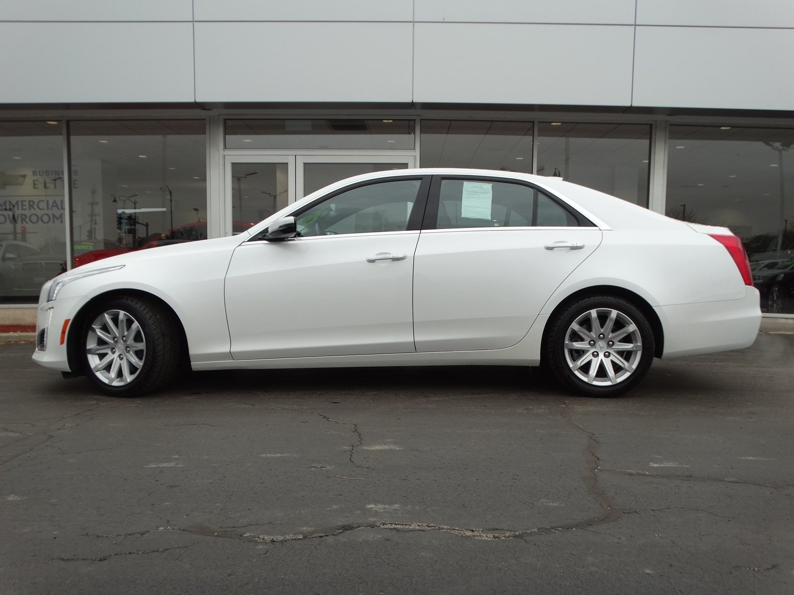 Pre-Owned 2015 Cadillac CTS Sedan Luxury AWD