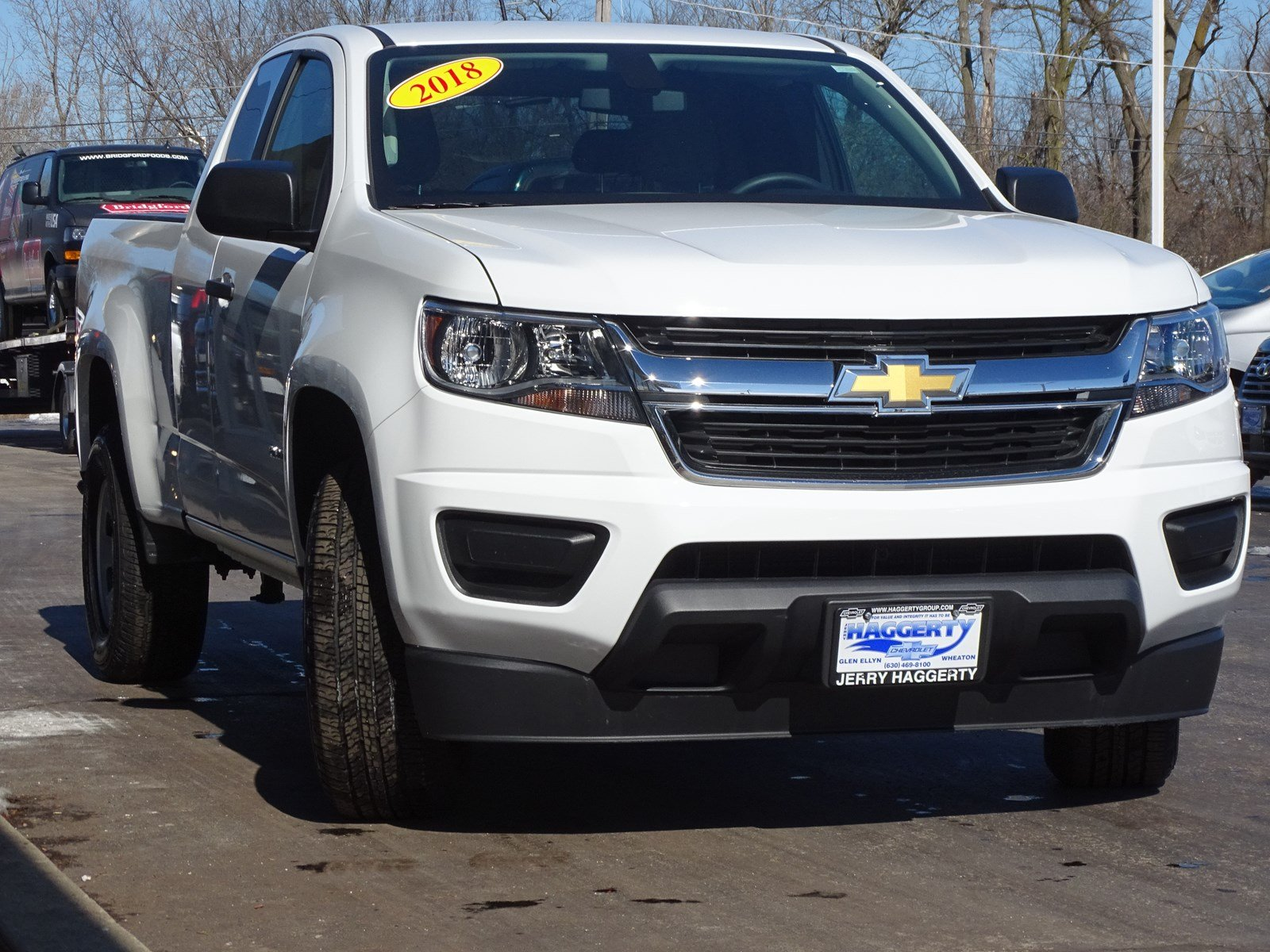 Certified Pre-Owned 2018 Chevrolet Colorado 2WD Work Truck