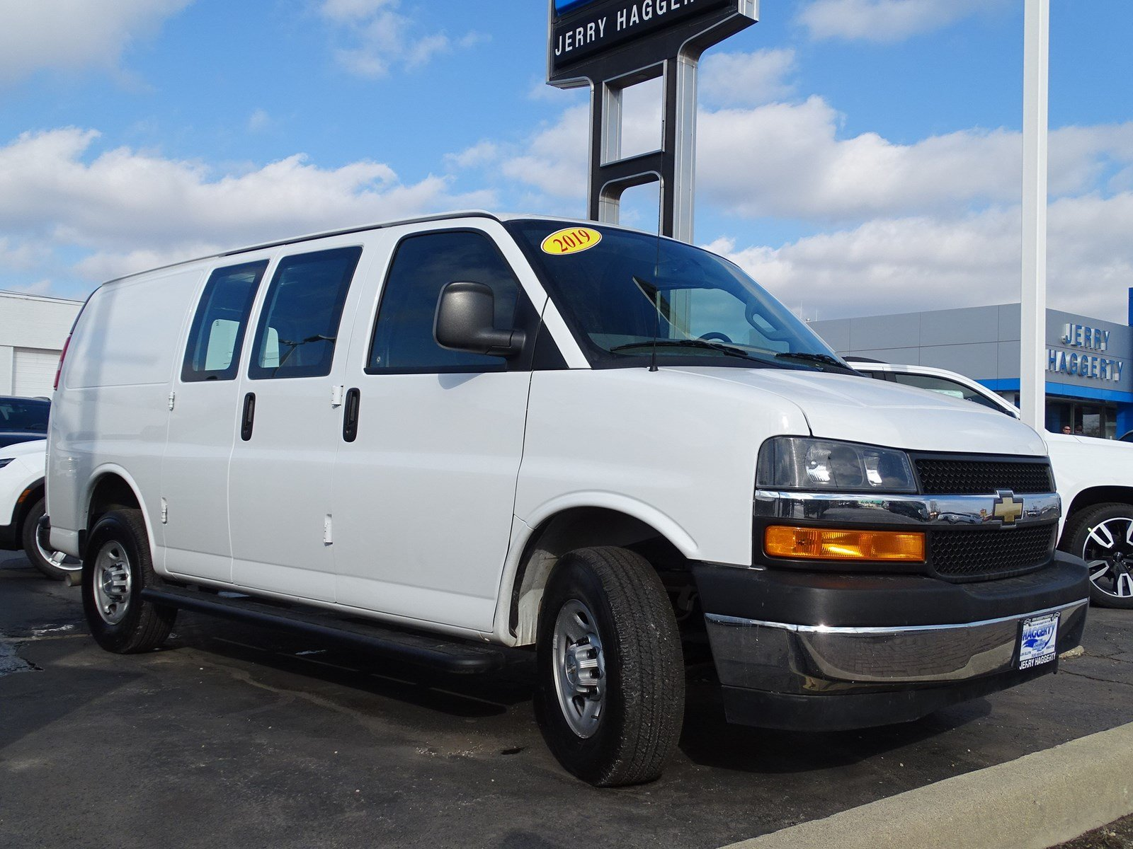 Certified Pre-Owned 2019 Chevrolet Express Cargo Van G2500