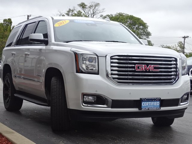 Certified Pre-Owned 2017 GMC Yukon SLT
