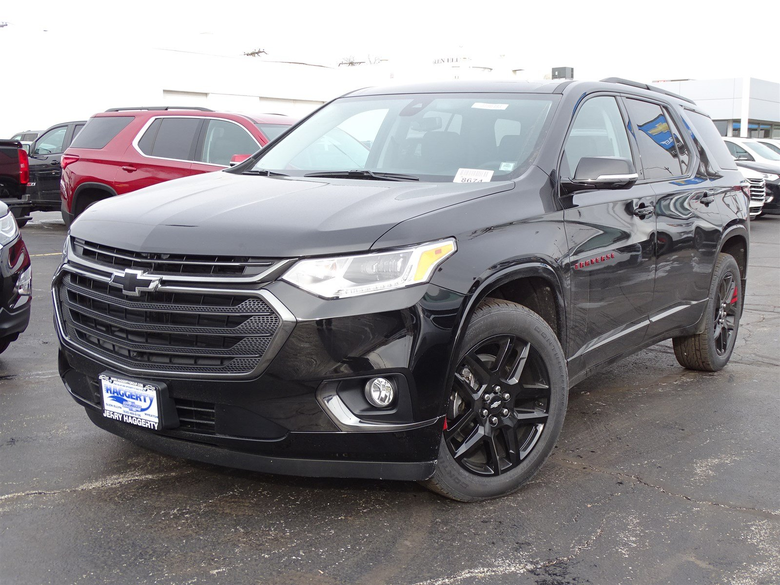 New 2019 Chevrolet Traverse Premier 4DR CROSS in Glen ...