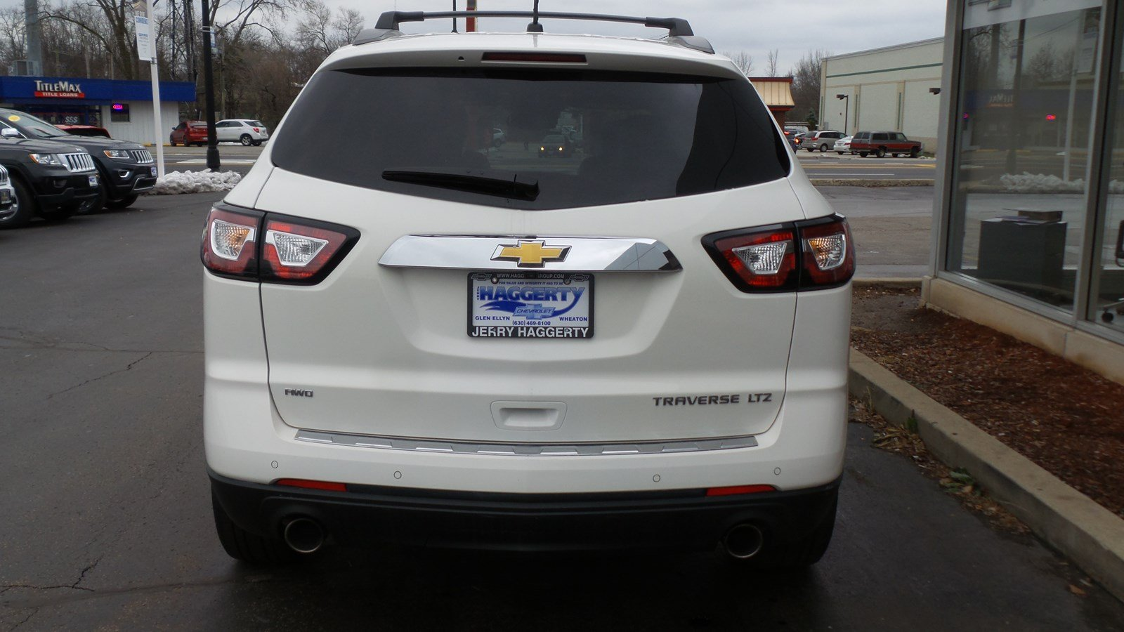 Certified Pre-Owned 2015 Chevrolet Traverse LTZ
