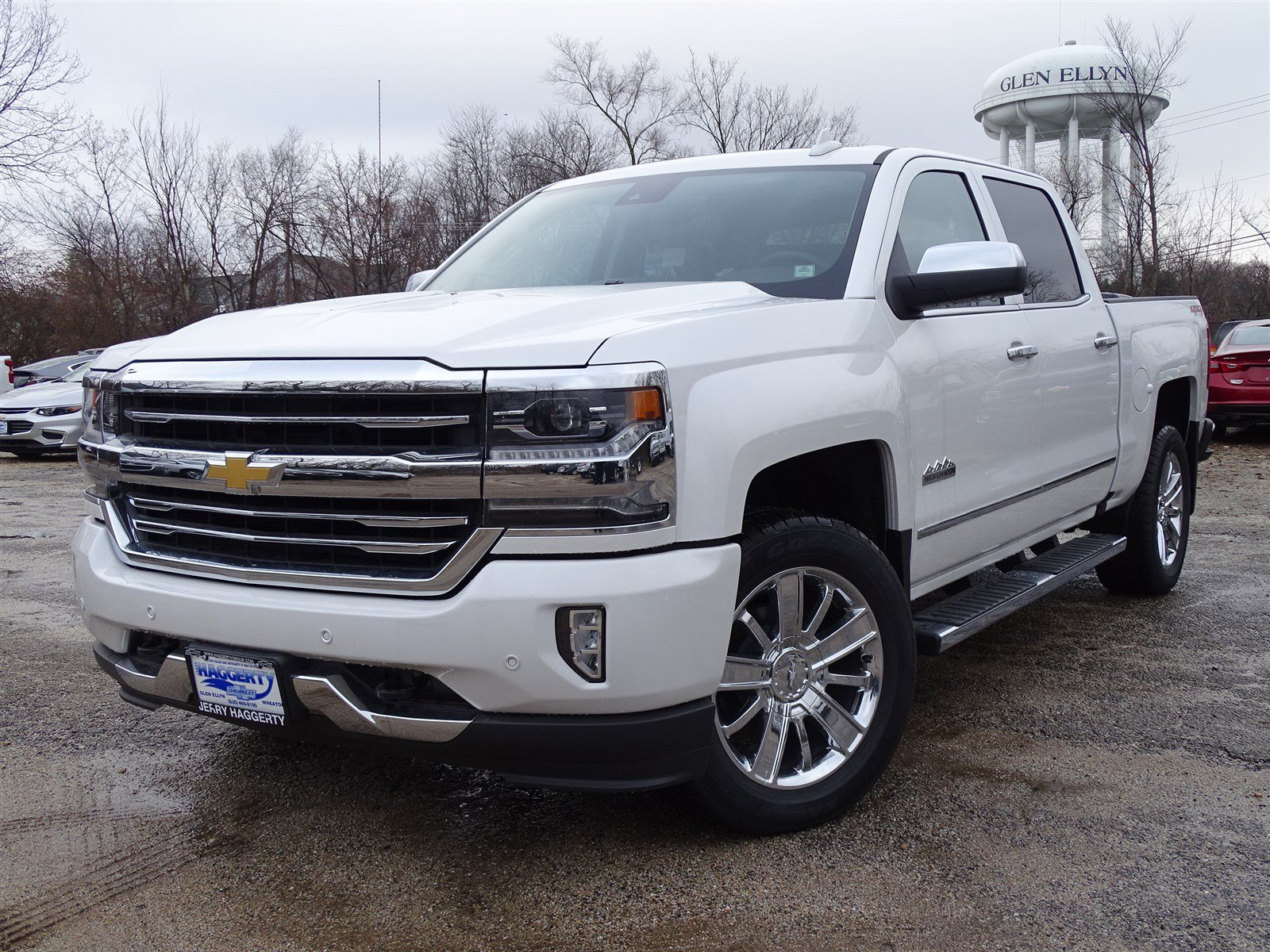 New 2018 Chevrolet Silverado 1500 High Country 4WD