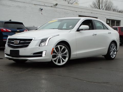 Pre-Owned 2017 Cadillac ATS Sedan Premium Luxury AWD