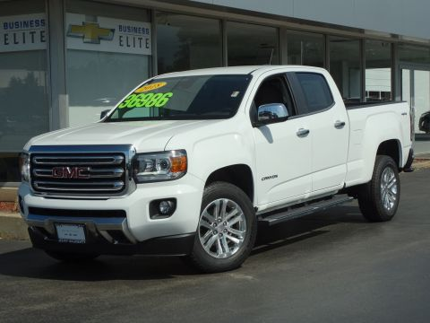 Certified Pre-Owned 2018 GMC Canyon 4WD SLT